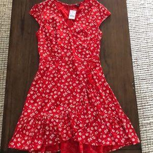 J.Crew factory flutter dress